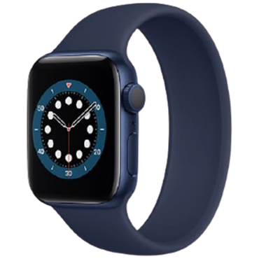 Apple Watch Series 6 GPS+Cellular, 40mm Blue Aluminium Case With Deep Navy Sport Band - TBH - 194 Lê Duẩn - TBH