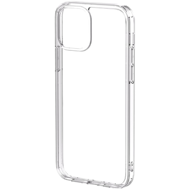 "Ốp lưng Mipow Tempered Glass Case for iPhone 12 Pro Max 6.7"" - Chính hãng Transparent"