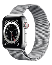 ĐH Apple Watch Series 6 GPS+Cellular, 44mm Graphite Stainless Steel Case with Graphite Milanese Loop-TBH-176 Chùa Thông,Sơn Tây
