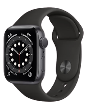 ĐH Apple Watch Series 6 GPS, 44mm Space Gray Aluminium Case with Black Sport Band - Regular, Wty 1Y_M00H3VN/A - SGY6DW1DPQ1RP -