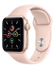 Apple Watch SE GPS, 44mm Space Gray Aluminum Case with Sport Band (VN/A) - TBH - 122 THÁI HÀ