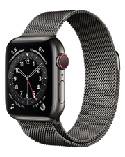 ĐH Apple Watch Series 6 GPS+Cellular, 44mm Graphite Stainless Steel Case with Graphite Milanese Loop - TBH - 258 Tô Hiệu - HP