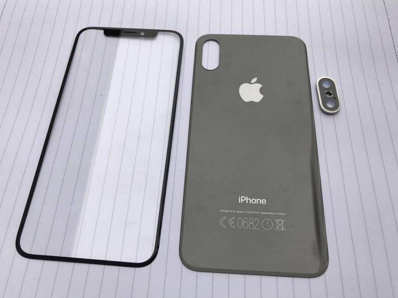 apple-iphone-8-lo-mat-lung-va-kinh-man-hinh-1 iPhone 8 lộ ảnh mặt kính trước và sau, tiếp tục xác nhận các tin đồn