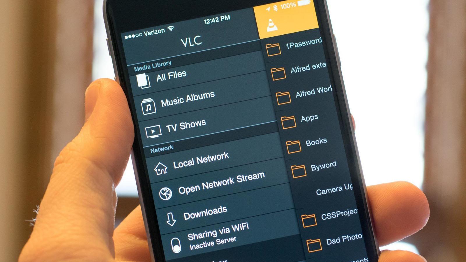 Ứng dụng VLC nhận cập nhật mới, tối ưu trên màn hình iPhone