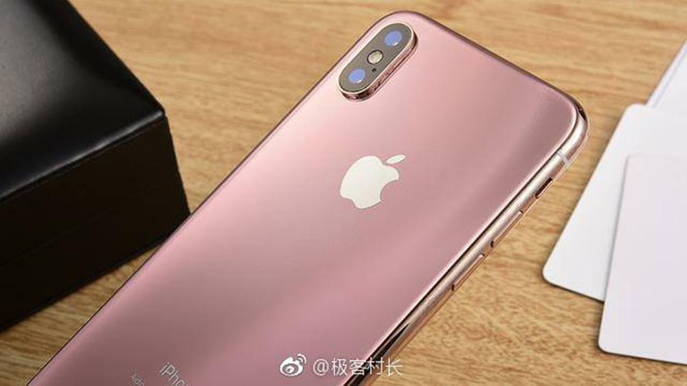 Iphone X Màu Hường Nam Tính Xuất Hiện Hình ảnh Thực Tế Cực