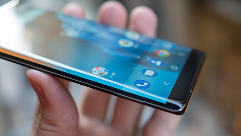 nokia-8-sirocco-black-5 Trên tay và đánh giá nhanh Nokia 8 Sirocco: Một Nokia hoàn khác với màn hình tràn viền