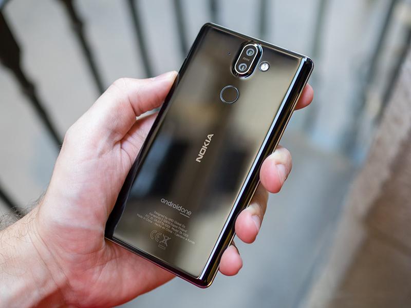 nokia-8-sirocco-black-9 Trên tay và đánh giá nhanh Nokia 8 Sirocco: Một Nokia hoàn khác với màn hình tràn viền