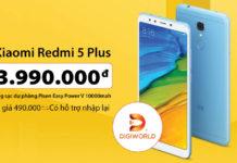 """Xiaomi Redmi 5 Plus chính hãng """"cập bến"""" giá 3.99 triệu đồng tặng Sạc..."""