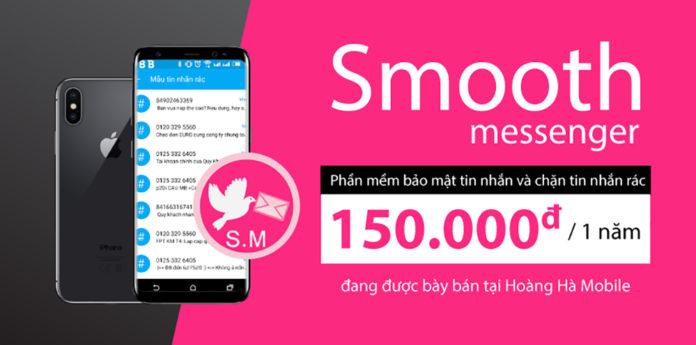 Smooth Messenger: Xóa tan nỗi lo tin nhắn rác chỉ trong một tích tắc
