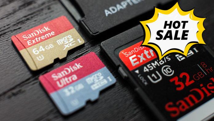 Thẻ nhớ Kingston, Sandisk chính hãng giảm giá CỰC MẠNH, mua ngay kẻo lỡ