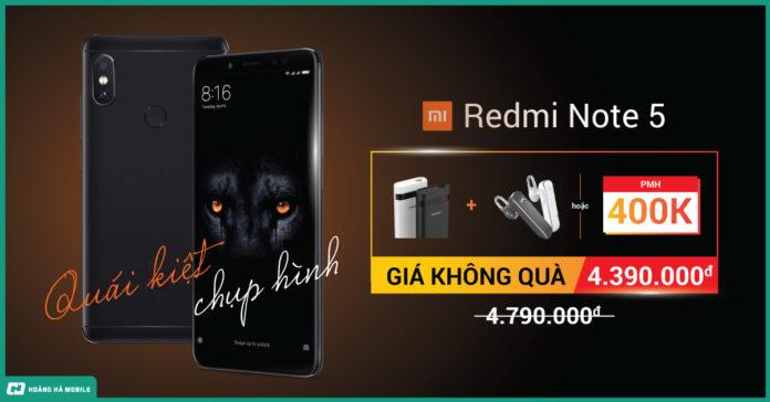 Có nên mua Quái kiệt Chụp hình Xiaomi Redmi Note 5 không?