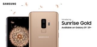 Galaxy S9/S9+ màu Sunrise Gold – Vàng Hoàng Kim chuẩn bị mở bán tại Việt Nam, giá không đổi