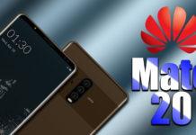 Huawei Mate 20 xuất hiện ngoài thực tế với viền cực mỏng, không có...
