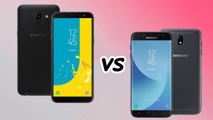 So sánh Galaxy J6 và Galaxy J7 Pro: Cùng tầm giá 5 triệu nên mua máy nào?