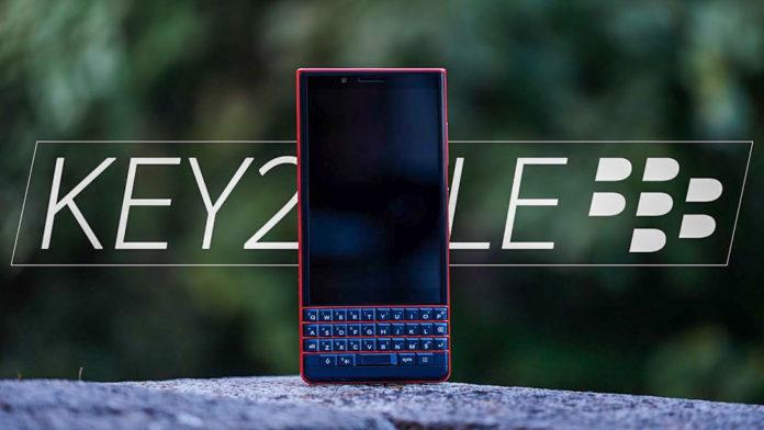 [IFA 2018] BlackBerry KEY2 LE trình làng: Thiết kế KEY2 với giá chỉ từ 9,28 triệu đồng