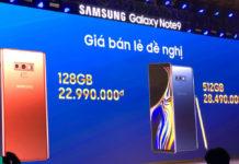 Samsung Galaxy Note 9 ra mắt Việt Nam, giá rẻ hơn dự kiến 2...