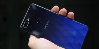 Trên tay OPPO F9 giá 7,69 triệu: Màn hình giọt nước, mặt lưng huyền ảo, camera kép