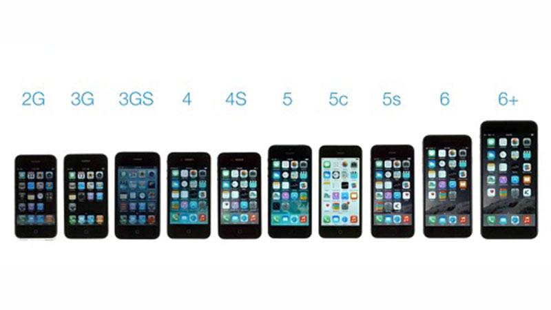 Nhìn lại lịch sử các dòng iPhone từ 2007 đến 2018