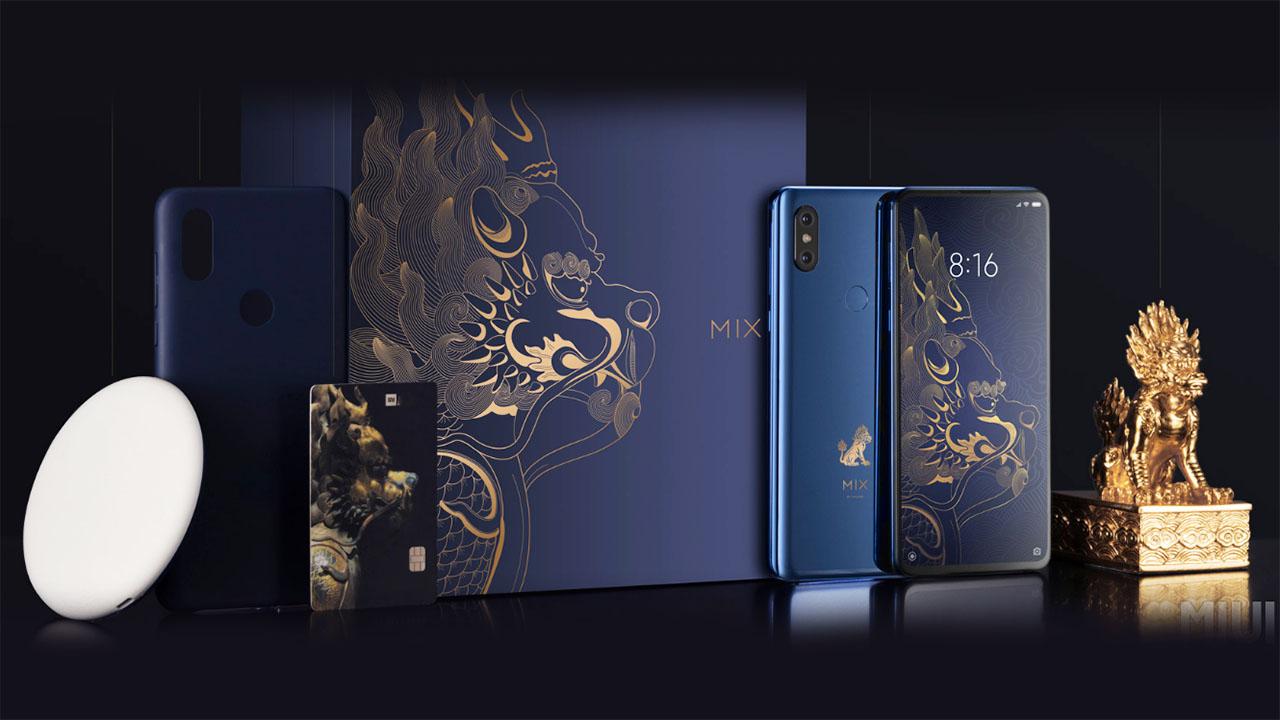 """Hình nền Xiaomi Mi MIX 3 """"gây thương nhớ"""" bởi phiên bảnTử Cấm Thành"""