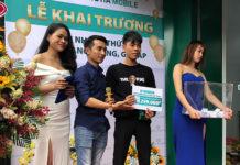 Thư cảm ơn các khách hàng tham gia chương trình khai trương Hoàng Hà Mobile 436 Quang Trung, Gò Vấp