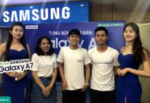 """Samsung mở bán Galaxy A7 2018 tại Việt Nam, giá tại Hoàng Hà Mobile cực """"hời"""""""