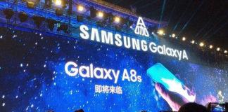 Samsung công bố Galaxy A8s, ngày ra mắt đã tới gần
