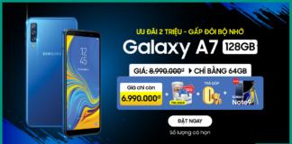 Mua Galaxy A7 2018 128GB