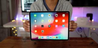 Chụp ảnh màn hình iPad Pro 2018