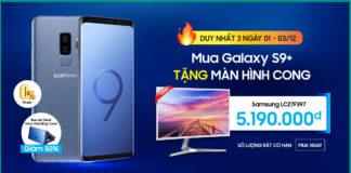 Mua smartphone Galaxy S9 Plus