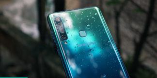 Trên tay Galaxy A9 2018
