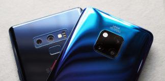 So sánh Mate 20 Pro và Galaxy Note 9