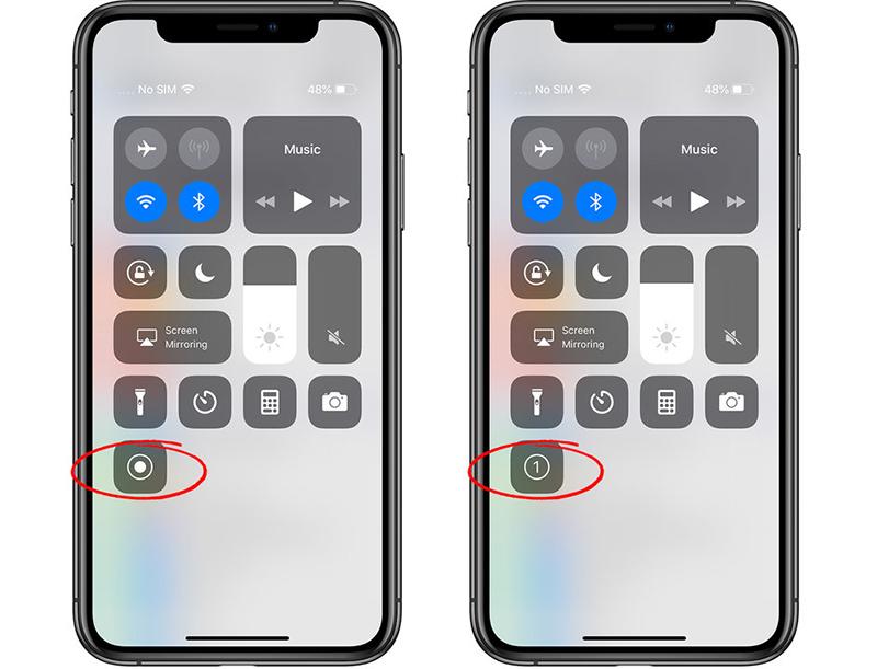 Cách quay màn hình iPhone