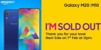 Mở bán Galaxy M10