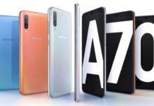 Galaxy A70 ra mắt: Pin 4500 mAh, camera 32MP, vân tay âm màn