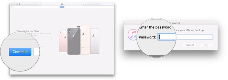 Cách chuyển dữ liệu từ iPhone cũ sang iPhone mới