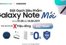 Samsung Galaxy Note mới