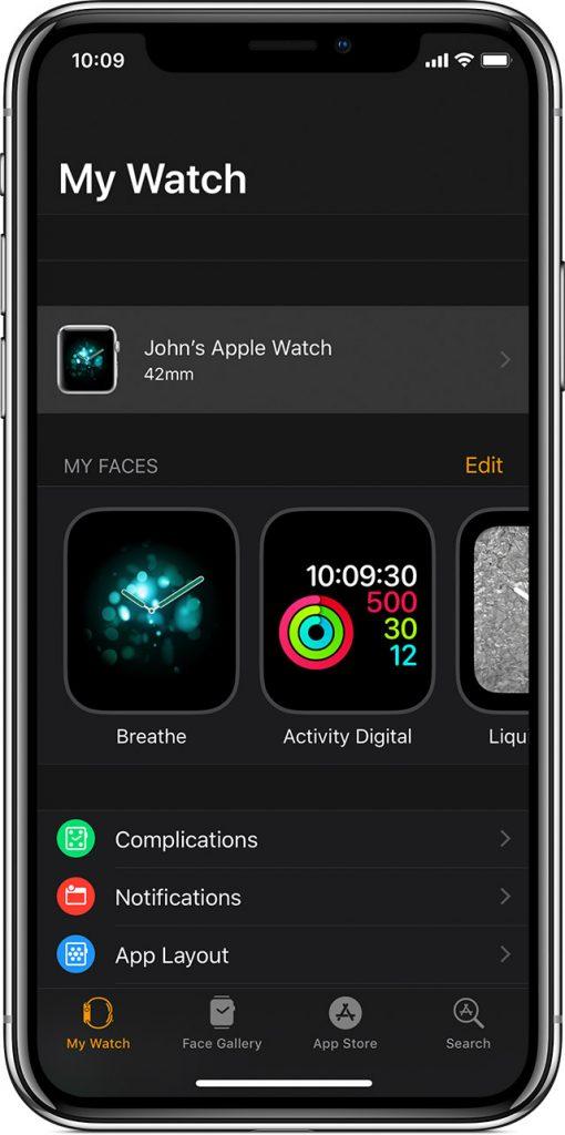 Cách kết nối Apple Watch với iPhone 1