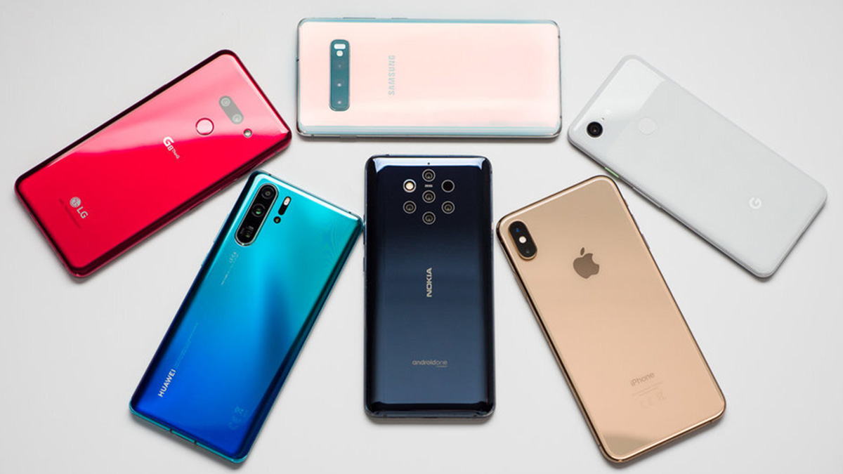 Various smartphone to choose