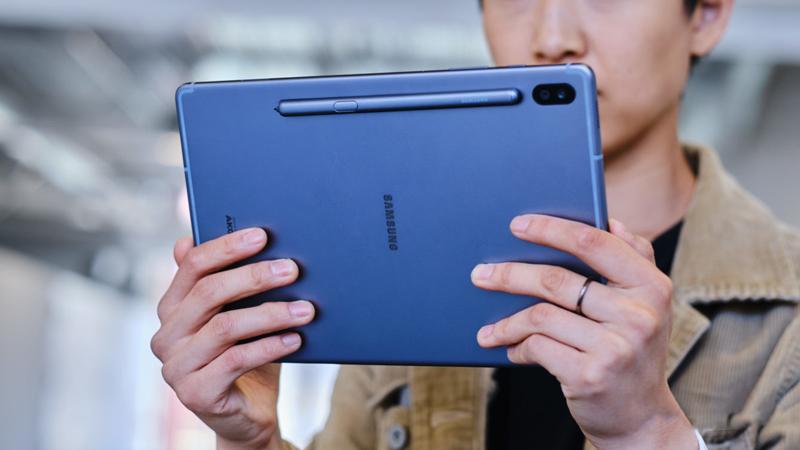 Trên tay Galaxy Tab S6