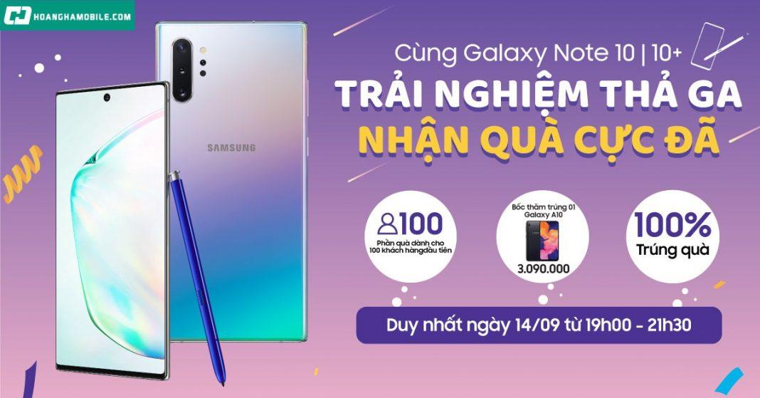 Trải nghiệm Galaxy Note 10|10+
