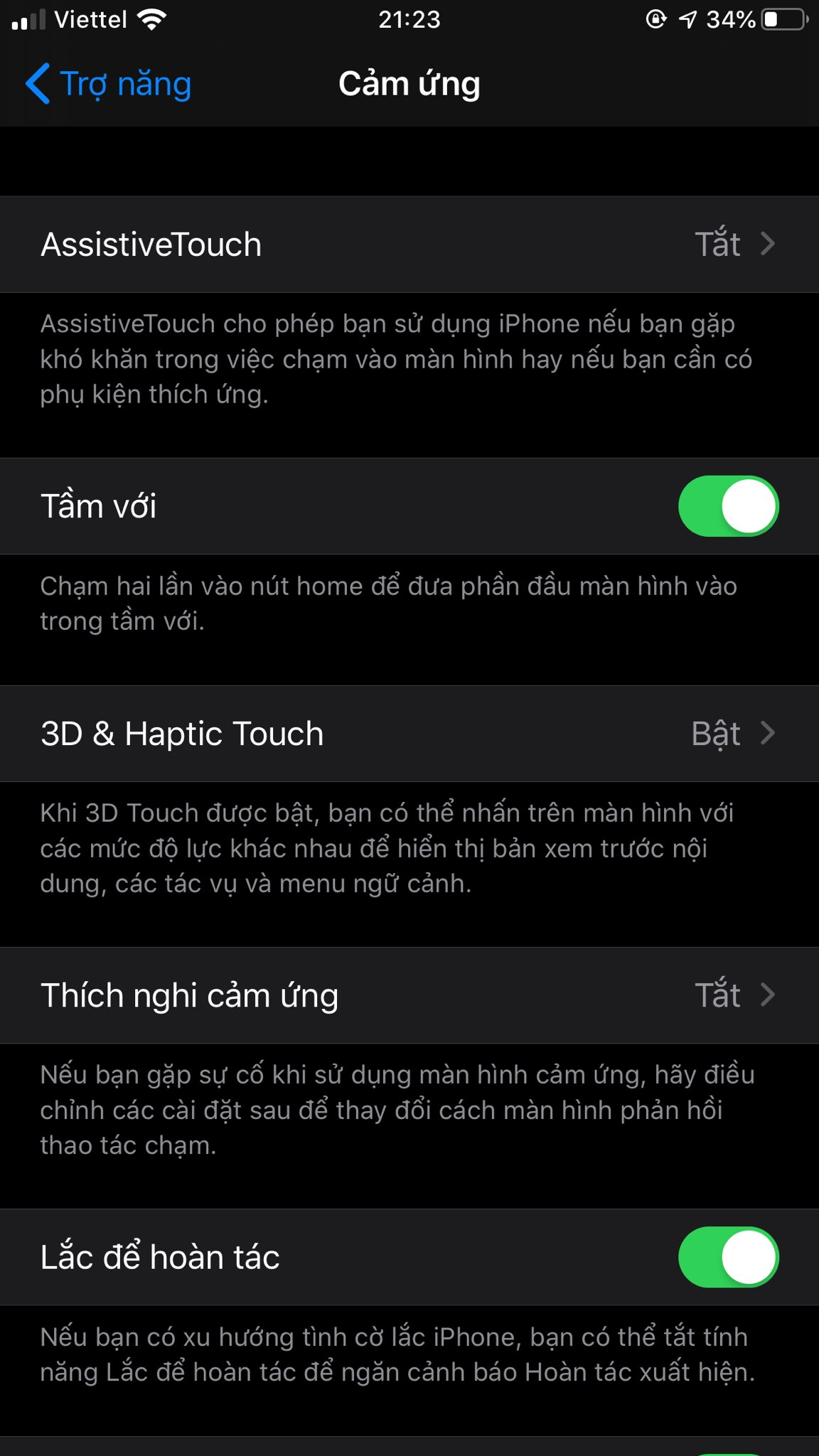 Cách bật nút HOME ảo trên iOS 13