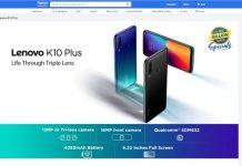 thông tin Lenovo K10 Plus