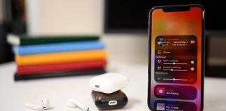 Tính năng chia sẻ âm thanh iOS 13