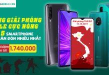 Top 5 smartphone tầm trung 2019