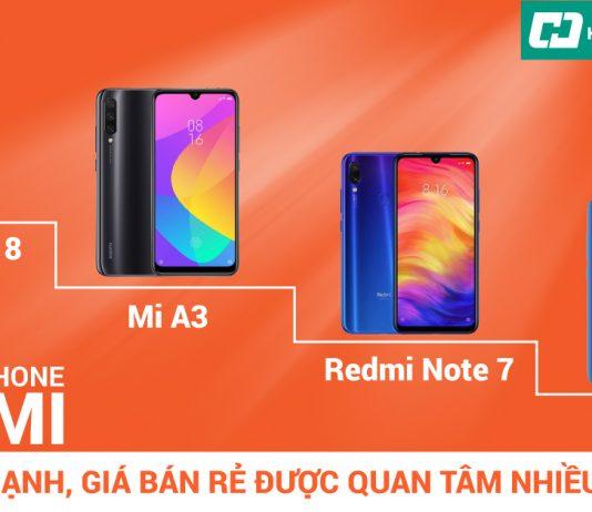 điện thoại Xiaomi tốt nhất 2019