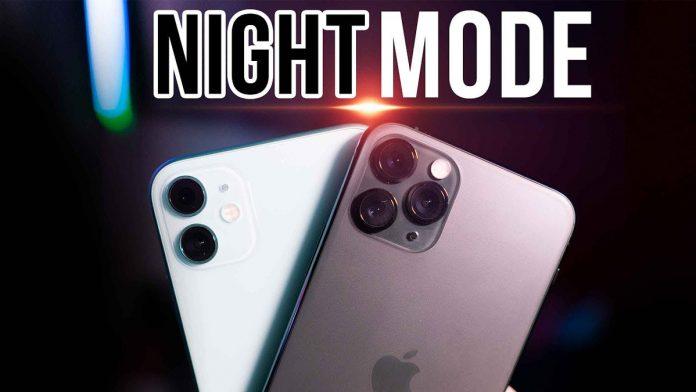 Chế độ chụp đêm trên iPhone 11