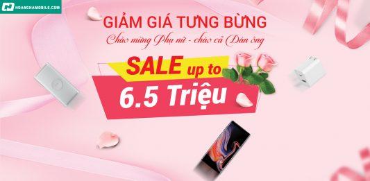 Ngày phụ nữ Việt Nam Hoàng Hà Mobile