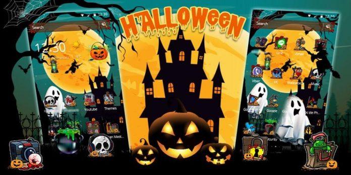 theme Halloween dành cho Android