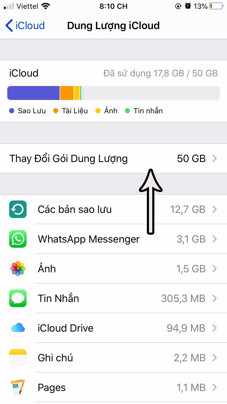Cách mua thêm dung lượng iCloud cho iPhone/iPad như nào? Giá bao nhiêu?