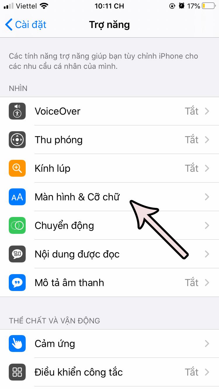 cach-tat-do-sang-tu-dong-tren-ios-13-2 Cách tắt độ sáng tự động trên iOS 13 cho iPhone